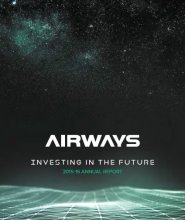 Airways Annual report 2015 16 cover
